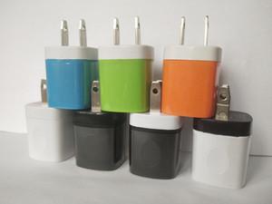 AC cargador de la pared del recorrido del hogar del cargador del adaptador Mini USB cargador USB de 5V 1A de EE.UU. para Samsung para teléfonos inteligentes 7 8 x mp3 libre de DHL