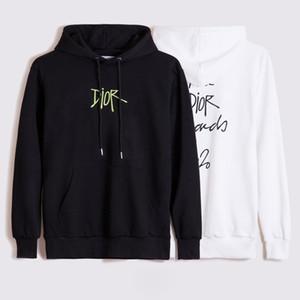 Luxus-Designer mit Kapuze Pullover Sweatshirt Mode Kran Druck und hohe Qualität Männer und Frauen Pullover Unisex Designer Kapuzenjacke Code