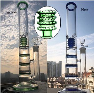 honeycomb perc percolator bongs water pipes glas bubbler thick glass water bongs dabber chicha honey with 18mm bowl pieces