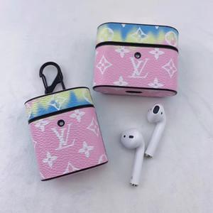 PU кожаный чехол для Apple, Airpods Pro 3 Наушники Защитная крышка для воздуха Бобы Pro 3 Беспроводная Bluetooth наушники Airpods 1/2 Case A04