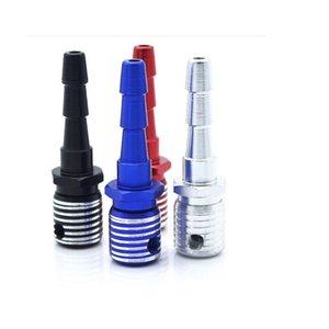Микрофон Форма металла трубы Съемные алюминиевого сплава курительная трубка 65x18mm Размер Портативный мини сигаретам Бонг DHL Freeshipping