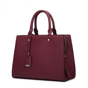 핫 디자이너 가방 MONTAIGNE 토트 여성 고급 가죽 어깨 가방은 꽃 무늬 가방 크로스 바디 큰 쇼핑 가방 비즈니스 노트북 가방 지갑