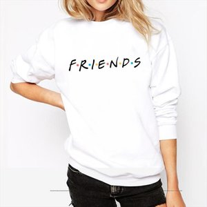 FRIENDS Letter Print sweater knitted Long Sleeve o neck women Sweater Pullover Tops Blouse Shirt pullovers winter women clothing