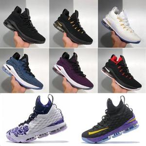 nike chaussures de alta qualidadeLebron 15 jerseyjames tênis de basquete Mens Basketball Shoes Chegada Sneakers 15s James esportes Designer Sn NKVo #