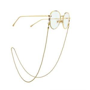 Q9CiZ Golden Pearl viajar sol moda sol anti-derrapante óculos antisun óculos nonskid cadeia Anti-skid cadeia anti-skid