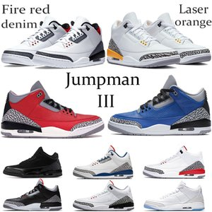 laranja sapatos laser de New Fire Red Denim Jumpman OG Basketball Varsity Real Knicks Joker Arrefecer Gray Court roxo homens correndo Sneakers 40-47