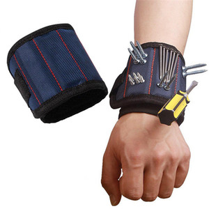 Magnetic Wristband Pocket Tool Belt Pouch Bag Screws Holder Holding Tools Magnetic bracelets Practical Chuck wrist Toolkit