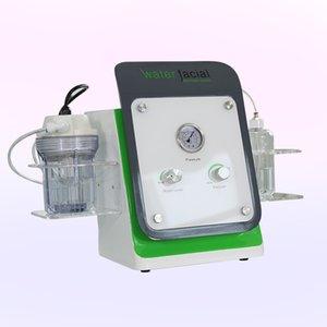 DHL frete grátis Microdermoabrasão máquina portátil Facial / Device Hydrodermabrasion Com Diamante e dicas de cristal forte sucção de energia
