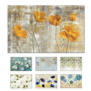 Dipinti moderni Coltello Fiore a olio del fiore Handmade pittura quadri su tela Wall Art a olio Art For Living Room decorazione domestica