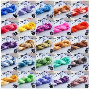 Nuevo estilo de la flor-envolver seda natural hilo de seda de morera hilo de bordar horquilla DIY Diydiy bordado de Suzhou