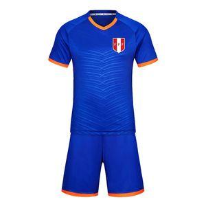 Перу 2020 футбол равномерная тренировка костюм короткий костюм мужской спортивной тренировки костюм бегущие износа спортивная одежда спортивная группа скалолазания