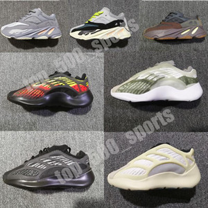 Infant Kanye v2 v3 Glow Azael kids Running shoes Alvah boy& girl Runners Toddler Static inertia Mauve trainers Lifestyle sneakers