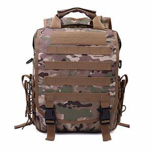 Sac à dos Lightweight 10L Commandos EDC Utilisez HAWK MOLLE MOLLE NOIR SYSTÈME CAMOUFLAGE PACK PACK PECHO MULTI-UTILISER