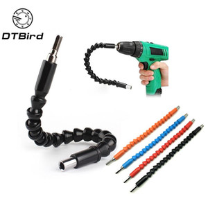 "Car Repair Tools Black 295mm Flexible Shaft Bits Extention Screwdriver Bit Holder Connect Link Electronics Drill 1 4"" Hex Shank"