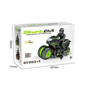 2.4G Kind Spielzeug RC Auto Fernbedienung Motorrad Stunt Motorrad High-Speed-Seitenlinie von Off-Road-Fahrzeugen 2020 verkaufen