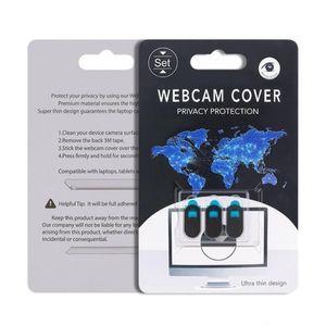 2020 Nova Webcam Capa para IPad Tablet PC portátil do telefone Webcams externas Devices Proteja sua privacidade ultral fino com embalagem de varejo