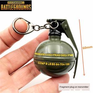 Jedi kaçış hayatta kalma tavuk şaşkın bombası alaşımlı silah silah gece Mvd5f modele parçası anahtarlık yemek el bombası