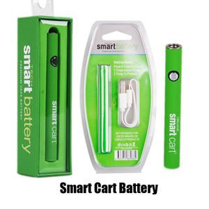 Новый смарт-тележки Разогреть батареи 380mAh Variable Voltage В. Зарядное устройство Vape Pen Kit для 510 Тема SmartCart Cartridge