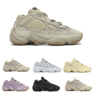 Haute Tyrian super Lune yellows fard à joues Tyrian doux Vision Violet Noir Utility Sel Hommes Femmes Chaussures d'hiver Kanyes Ouest Sneakers