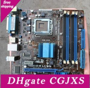아수스 P5g41c - M LX 데스크톱 마더 보드 인텔 G41 LGA 775 DDR2, DDR3 U ATX의 경우