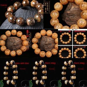 estilo arte famosa étnica sândalo 8yE4f Tibet antílope contas chifre Buddha Bead Bracelet nacionalidade nacionalidade pulseira qvh9j bea étnica
