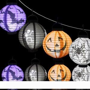 solar outdoor lights lantern 8 colors Halloween lamp Lantern White RGB Colourful Automatic Light LED Solar Light chinese lanterns
