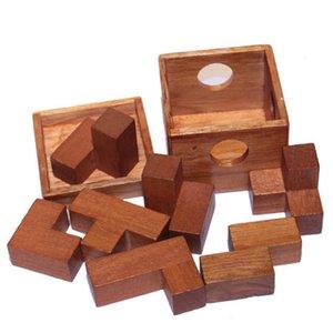 MINOCOOL 7шт / Box Куб Interlo головоломка Unlo IQ Разум Логические головоломки игры для взрослых Дети Детские Подарочные настольные игры игрушки