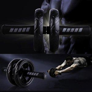 Stock Ab Rouleaux abdominale Roue d'exercice abdominale Rouleaux exerciseur Fitness Workout Gym Idéal pour bras, le dos, entraîneur de base du ventre FY6250