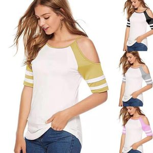 Out Min Sexy Short Sleeve Frauen Tops Plus Size Damenmode Sommer-Frauen desingner Hemd Hohle