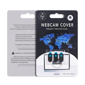 New Webcam Capa para IPad Tablet PC portátil do telefone Webcams externas Devices Proteja sua privacidade ultral fino com embalagem de varejo
