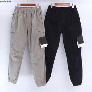 Çoklu Pocket tulum erkekler koşu Tayt erkek moda Retro CP topstoney KORSAN ŞİRKET konng gonng İlkbahar ve yaz yeni moda