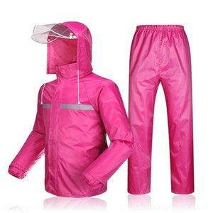 25g3s osQ80 filles Rainproof pantalon pluie résistant à l'usure costume deux pièces pour garçons enfants garçons Rainp petit imper grand écart ultra-léger Sanit