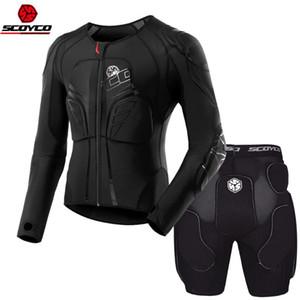 SCOYCO motocicleta de motocross MX Moto Armadura de secado rápido respirables absorbentes de sudor memoria Armor ropa