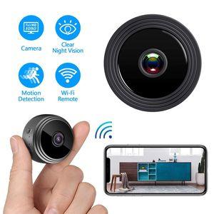 A9 1080P Full HD Mini Video Cam WiFi Cámara IP Inalámbrica Seguridad Cámaras ocultas Indoor Inicio Vigilancia Noche Visión Noche Pequeña videocámara