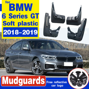 Para BMW Série 6 Gran Turismo GT G32 2018 ~ 2019-lamas Fender Mud Guard Flaps respingo Flap-lamas Acessórios 630i 640i 620d1