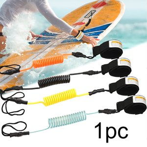 Elastic Boats Safety Outdoor Surfing Leash Rope Stand Up Paddle Coiled Sup Hand