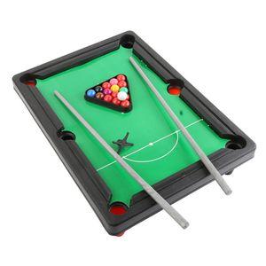 Spor Oyuncak Kapalı Masaüstü Havuzu Masa Eğlence Mini Bilardo Seti Masa Oyunu