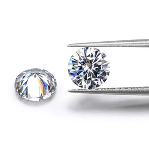 Color GH Natural Loose Moissanite Diamond Test Positive Stone for Rings Earrings Pendant Brilliant Forever With Certificate