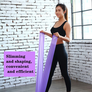 Factory Direct Selling Hot Selling Yoga Tension Band Fitness Men And Women Resistance Band Strength Training Stretching Latex
