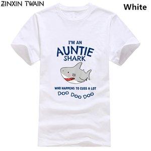 Hip-Hop Футболка с я An тетю Shark