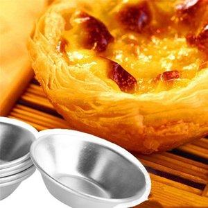 Ferramentas Super Bolacha, Bolo Egg Tart Cupcake 7 Baking Cm Re-utilizável molde de alumínio Tin metal grosso sweet07 IoHEa