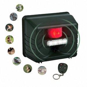 원격 제어 쥐 사슴, 고양이, 개, FO jQtC 번호와 새로운 초음파 야외 동물 드라이브 스트로브 Led 빛 펠러 드라이브 설치류 장치