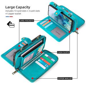 iPhone Galaxy maioria dos smartphones caso hangbag Inclui caso titular telefone com cartão de bolso com silicone Correia de pescoço