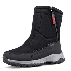 Outdoor Women Winter Boots 2020 Thicken Warm Plush Snow Boots Sports Travel Waterproof Non-slip Platform Shoes For Skiing Hiking