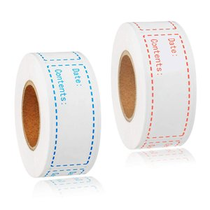 150pcs / roll Food Freezer adesivos 1 * 3 polegadas auto-adesivo de armazenamento Frigorífico Food Data Etiquetas Supplies Easy Clean nenhum resíduo de cozinha