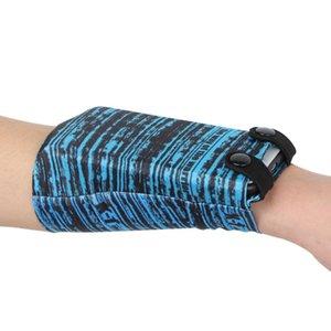 Laufen Tasche Fitness Telefon-Handgelenk-Beutel-Mappen-Jogging Radfahren Gym Fitness Armband Armband Pack Basketball Schweißband