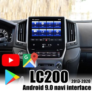 car Android 9.0 Multimedia Video Interface Navigation Box for 2013-2020 Land Cruiser LC200 VXR GXR support Android auto
