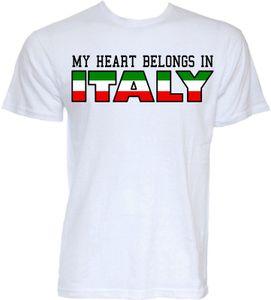 FUNNY İTALYAN T-shirt ERKEK YENİLİK İTALYA FLAG şaka HEDİYE T-shirt
