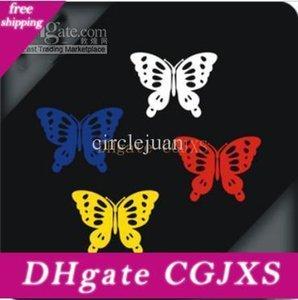 100pr / Lot bas prix de gros papillon Stickers Autocollants Pour Voiture / 18 * Mur Reflctive 5cm De Chine