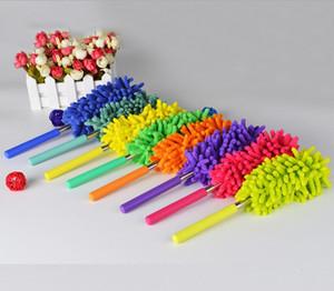 Flexible plumeros polvo removedor portátil manija larga extensible Chenille del plumero de Limpieza del hogar del coche de la herramienta de DHL 60piece